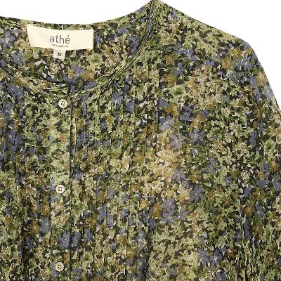 see through floral dress